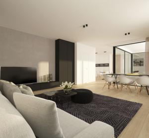 Patersbos Westerlo appartementen nieuwbouw te koop Living